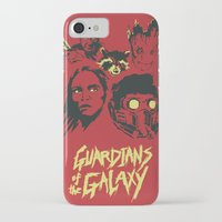 starlord iPhone & iPod Cases featuring Guardians by Perry Misloski