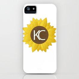 Sunflower KC iPhone Case