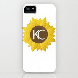 Sunflower KC iPhone Case