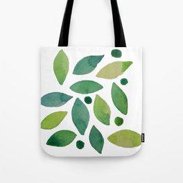 Leaves & berries watercolour Tote Bag