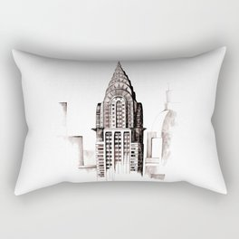 Chrysler Building, NYC Rectangular Pillow