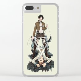 Levi Action Clear iPhone Case
