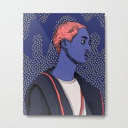 Jaden Smith Metal Print