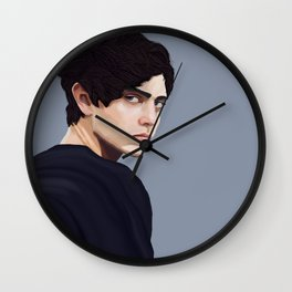 Liv on Wall Clock
