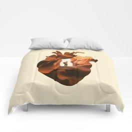 Heart Explorer Comforters