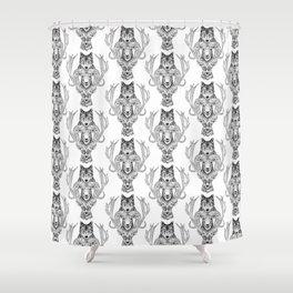 Wolfram & Hart Shower Curtain