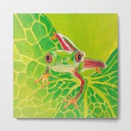 Tree Frog Metal Print