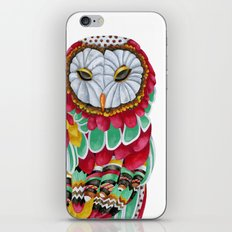 Owl Aura. Candy Colored Edition iPhone & iPod Skin