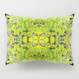 Abstract Pond and Lily Pads 1399 Pillow Sham