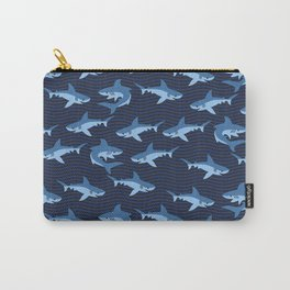 Blue Sharks Carry-All Pouch