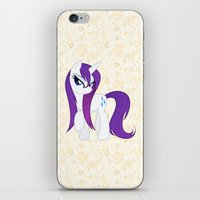 my little pony iPhone & iPod Skins featuring MY LITTLE PONY by Ylenia Pizzetti