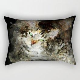 perfect evil cat Rectangular Pillow