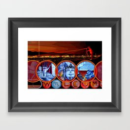 Sin City Framed Art Print