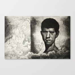 John and the Rock Canvas Print