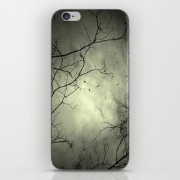 Spooky Kettle of Turkey Vultures iPhone Skin