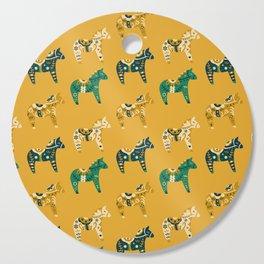 Dala Horse Pattern Cutting Board