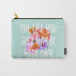 TLYS Mint Carry-All Pouch