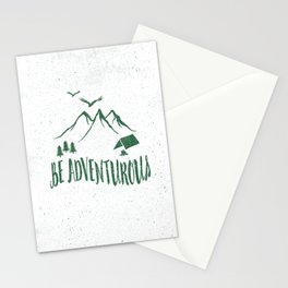 BE ADVENTUROUS Stationery Cards