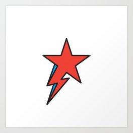The Prettiest Star Art Print