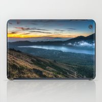 indonesia iPad Cases featuring Batur Indonesia HDR by Santiago Billy