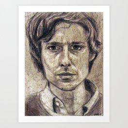 John Maus (portrait) Art Print
