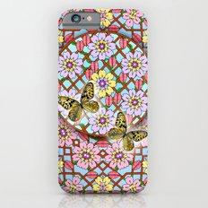 In the Garden of Love Mandala iPhone 6s Slim Case