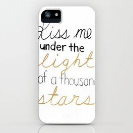 Thinking Out Loud 2 iPhone Case