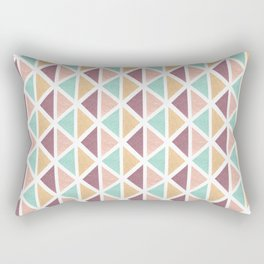 Geometric Pattern IV Rectangular Pillow