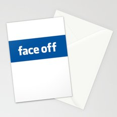 2010 - Face Off Stationery Cards