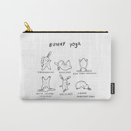 Bunny Yoga Carry-All Pouch