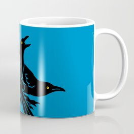 Grackles, the most diabolical birds, take over Austin, Texas Coffee Mug