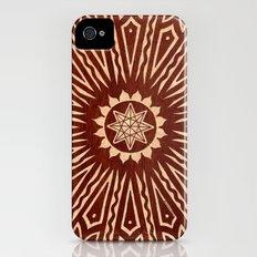 ozorahmi wood mandala Slim Case iPhone (4, 4s)