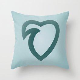 wavelove Throw Pillow