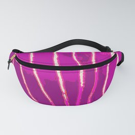 Purple Bongo Stripes Fanny Pack