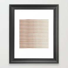 Line II Framed Art Print