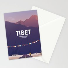 Alone In Nature - The Tibetan Way Stationery Cards