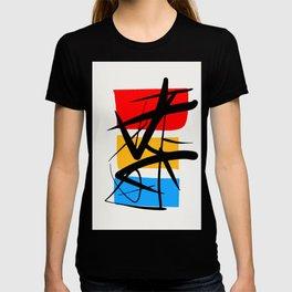 Synchronicity Abstract Art Minimalist in the zen spirit T-shirt