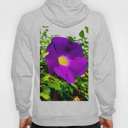 The Purple Flower Hoody