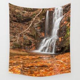 Orange Grove Waterfall Wall Tapestry
