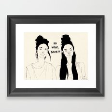 Is There Any Prob? Framed Art Print