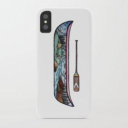 Scenic Canoe iPhone Case