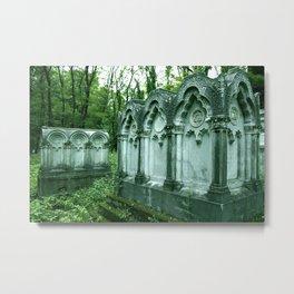Warsaw Jew Cemetery Metal Print
