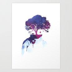 Lonely childhood Art Print