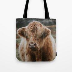 Folk Cow Tote Bag