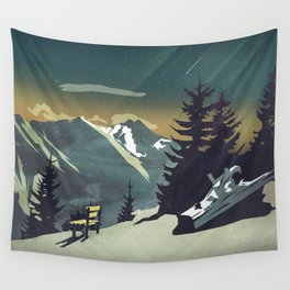 Pause Wall Tapestry