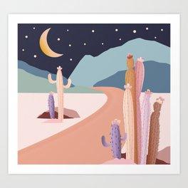 Sweet Desert Escape Art Print