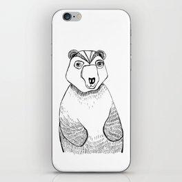 Boris the Bear  iPhone Skin