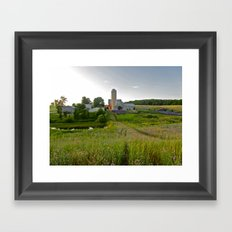 Lavender Farm Framed Art Print