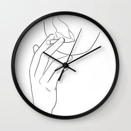 fumée Wall Clock
