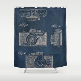 Cazin Camera patent art Shower Curtain